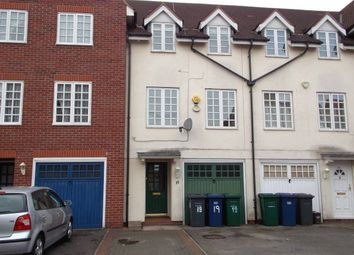Thumbnail 3 bed town house to rent in Bernhart Close, Edgware