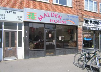 Thumbnail Restaurant/cafe to let in Manor Drive North, New Malden