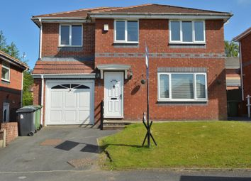 Thumbnail 4 bed detached house for sale in Chepstow Drive, Oldham