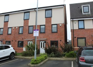 Thumbnail 4 bed town house to rent in Sundew Close, Heywood, Lancashire
