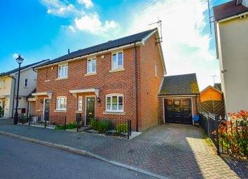 3 bed semi-detached house for sale in Oldfield Drive, Wouldham, Rochester ME1