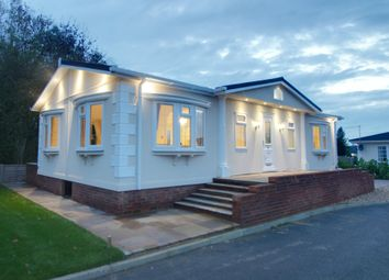 Thumbnail 2 bed mobile/park home for sale in The Firs, Woodside Lane, Hatfield
