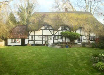 Thumbnail 5 bedroom detached house for sale in Bent Street, Nether Wallop, Stockbridge, Hampshire