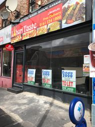 Thumbnail Restaurant/cafe to let in Albert Road, Manchester