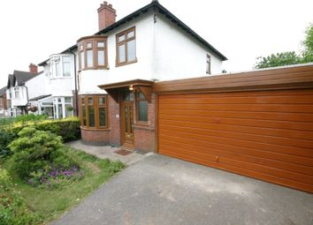 Thumbnail 3 bedroom semi-detached house to rent in Mostyn Avenue, Littleover, Derby, Derbyshire