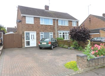 Thumbnail 3 bedroom semi-detached house for sale in Mendip Way, Luton