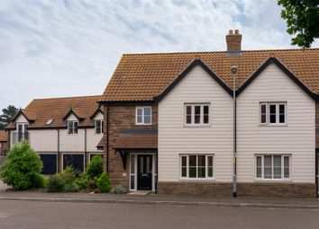 Thumbnail 3 bed semi-detached house for sale in Potters Way, Poringland, Norwich