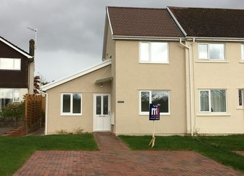 Thumbnail 3 bedroom end terrace house for sale in Ladyhill, Usk