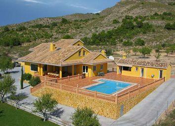 Thumbnail 5 bed villa for sale in Sax, Alicante, Spain