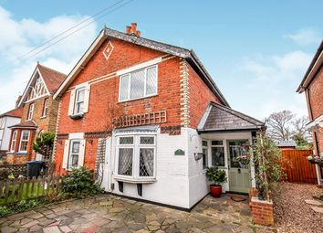 Thumbnail 2 bed semi-detached house for sale in Leatherhead Road, Malden Rushett, Chessington
