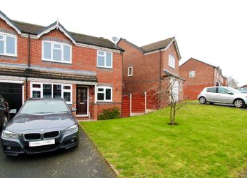 Thumbnail 3 bed semi-detached house for sale in Sandown Crescent, Bowbrook, Shrewsbury
