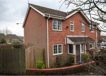 Thumbnail 2 bedroom end terrace house for sale in Felthorpe Close, Reading