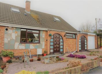 Thumbnail 4 bed bungalow for sale in Silverdale Drive, Leicester