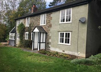Thumbnail 2 bed detached house to rent in Bwlch-Y-Cibau, Llanfyllin