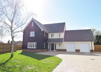 Thumbnail 5 bedroom detached house for sale in Edward Marke Drive, Langenhoe, Colchester