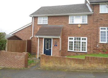 Thumbnail 3 bed end terrace house to rent in Laburnum Road, Strood, Rochester