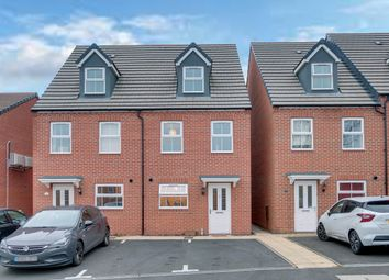 Thumbnail 3 bed town house for sale in Aston Close, Woodrow, Redditch
