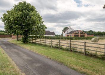 Thumbnail 5 bed farmhouse for sale in Landcroft Lane, Sutton Bonington, Loughborough