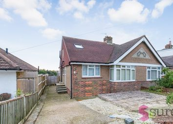 Thumbnail 3 bedroom semi-detached bungalow to rent in Gleton Avenue, Hangleton, East Sussex