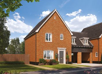 3 bed link-detached house for sale in Norwich Road, Kilverstone, Thetford IP24