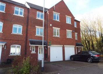 Thumbnail 4 bed terraced house for sale in Hedgerow Close, Redditch, Worcestershire