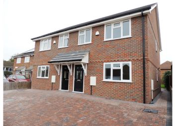 Thumbnail 3 bed semi-detached house for sale in Stoke Road, Rochester