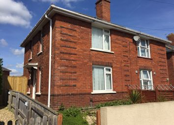 Thumbnail 2 bed semi-detached house to rent in Briar Crescent, Exeter