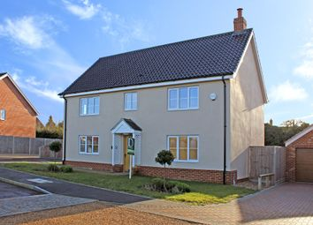Thumbnail 5 bed detached house for sale in Amberley Close, Blythburgh, Halesworth
