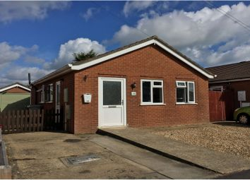 Thumbnail 2 bed detached bungalow for sale in Marine Avenue, Sutton-On-Sea