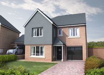 Thumbnail 4 bedroom detached house for sale in Cottier Grange, Prudhoe