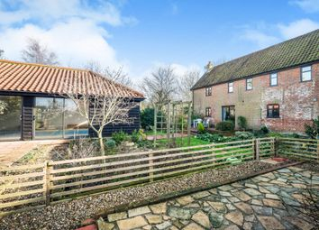Thumbnail 5 bedroom equestrian property for sale in St. Peter South Elmham, Bungay, Suffolk