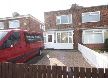 Thumbnail 2 bedroom semi-detached house for sale in Ormerod Road, Hull