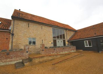 Thumbnail 4 bed barn conversion to rent in Haddon, Peterborough