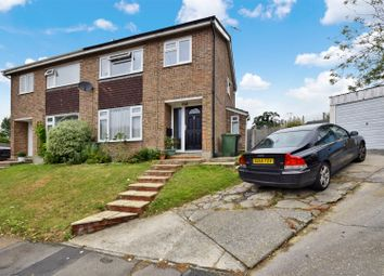 Thumbnail 3 bedroom semi-detached house for sale in Crossways, Colne Engaine, Colchester