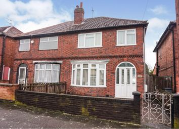 3 bed semi-detached house for sale in Raeburn Road, Leicester LE2