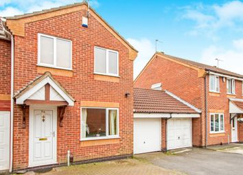 Thumbnail 3 bed semi-detached house for sale in Larchwood Close, Knighton, Leicester