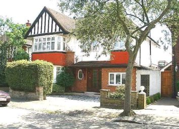 Thumbnail 5 bed detached house to rent in Audley Road, Ealing, London