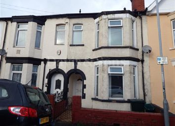 Thumbnail 4 bed terraced house to rent in Grafton Road, Newport