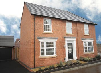 "Thumbnail 4 bed detached house for sale in ""Eden"" at Melton Road, Queniborough, Leicester"