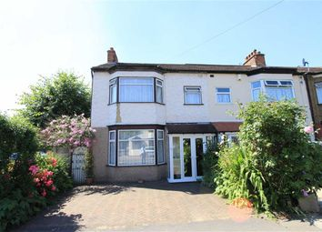 Thumbnail 3 bed end terrace house for sale in Hertford Road, Newbury Park, Essex