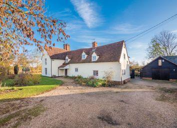 Thumbnail 5 bed farmhouse for sale in Wickham St Paul, Halstead, Essex
