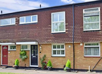 Thumbnail 3 bed terraced house for sale in Langcroft Close, Carshalton, Surrey
