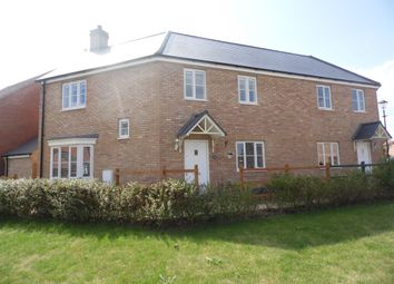Thumbnail 3 bed semi-detached house for sale in Bluebell Walk, Witham St. Hughs, Lincoln