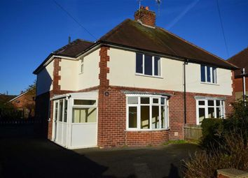 Thumbnail 3 bed semi-detached house for sale in Springfield Avenue, Ashbourne, Derbyshire