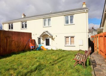 Thumbnail 3 bed semi-detached house for sale in Dawes Close, Dobwalls, Liskeard
