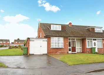 Thumbnail 2 bed semi-detached bungalow for sale in Broomfield Road, Admaston, Telford