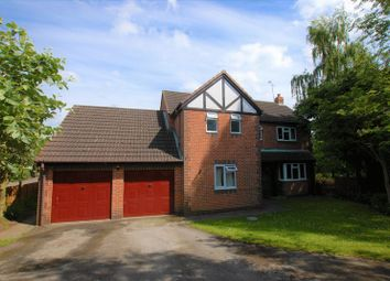 Thumbnail 4 bed detached house for sale in Glebe Close, Doveridge, Ashbourne