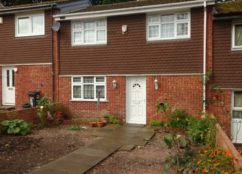 Thumbnail 3 bed town house for sale in Davison Road, Rowlatts Hill, Leicester