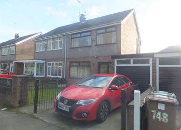 Thumbnail 3 bed semi-detached house to rent in Warrington Road, Prescot, Rainhill