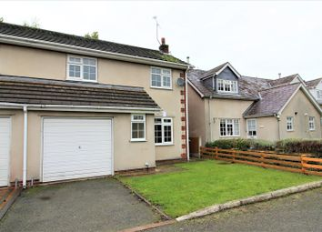 Thumbnail 3 bed semi-detached house for sale in School Mews, Bangor-On-Dee, Wrexham